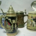 porcelánové poháre na pivo
